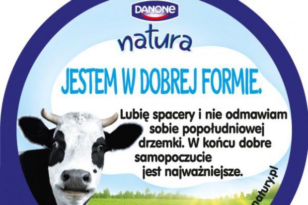 Nowe opakowania jogurtów Danone Natura