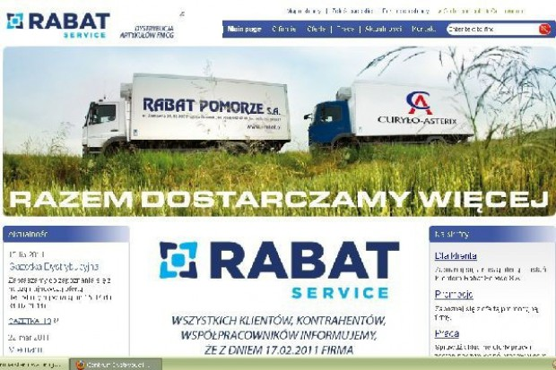 Rabat Service złożył wniosek o ogłoszenie upadłosci układowej