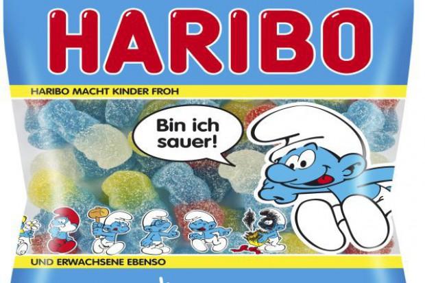 Nowe smaki żelków Haribo Smerfy