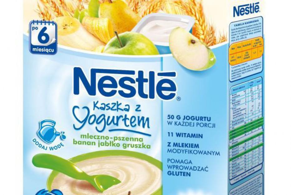 NESTLÉ wprowa nowe kaszki z jogurtem