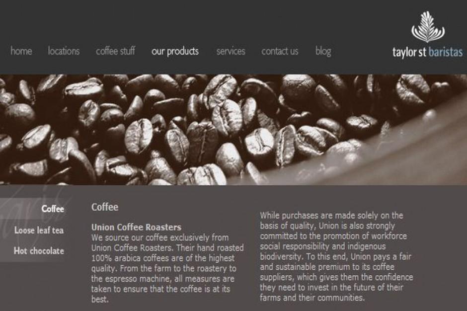 Tesco inwestuje w sieć kawiarni premium