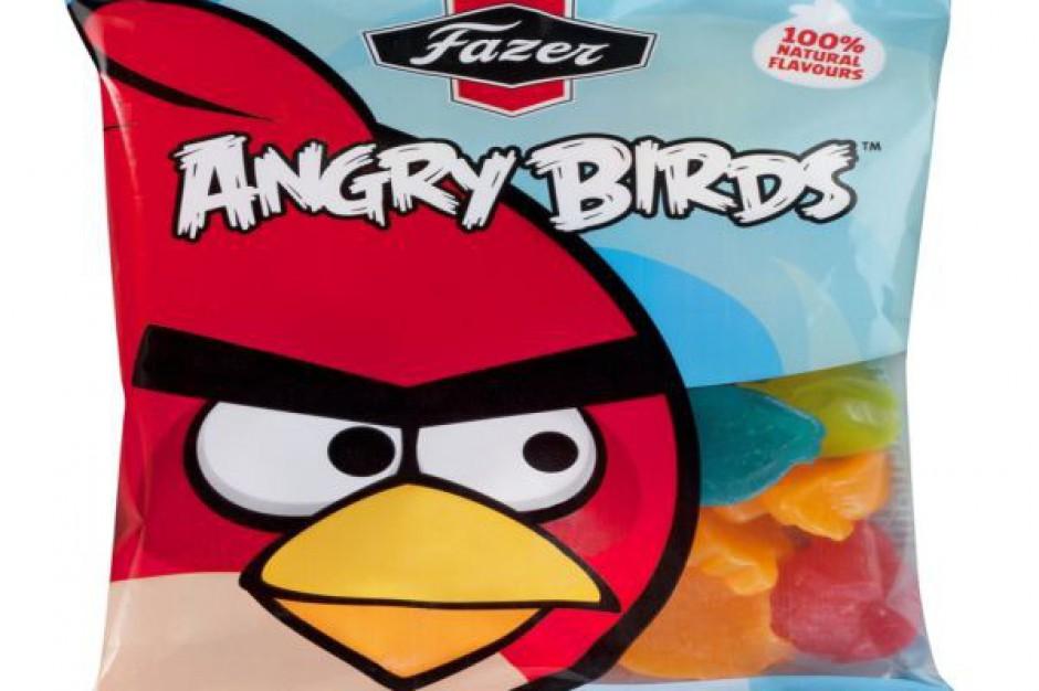 Fazer wprowadza słodycze Angry Birds do sklepów w Polsce