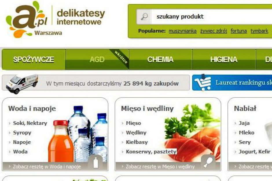 Fatalne wyniki A.pl za lipciec br. Spółka zrealizowałam prawie 2 tys. dostaw mniej niż w 2011 r.