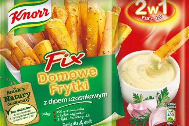 Knorr proponuje dipy do frytek