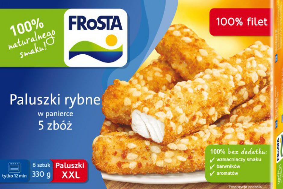 Paluszki rybne w panierce 5 zbóż od FRoSTY