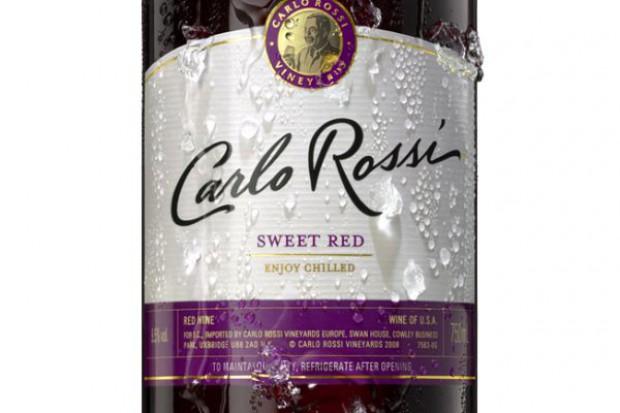 Carlo Rossi wprowadza słodkie wino czerwone