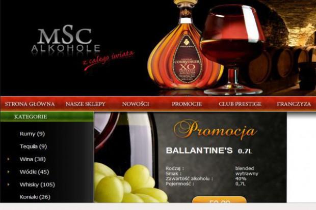 MSC Alkohole rusza z franczyzą