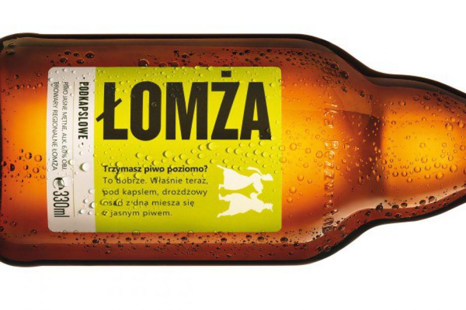 Do sklepów trafiło piwo Łomża Podkapslowe