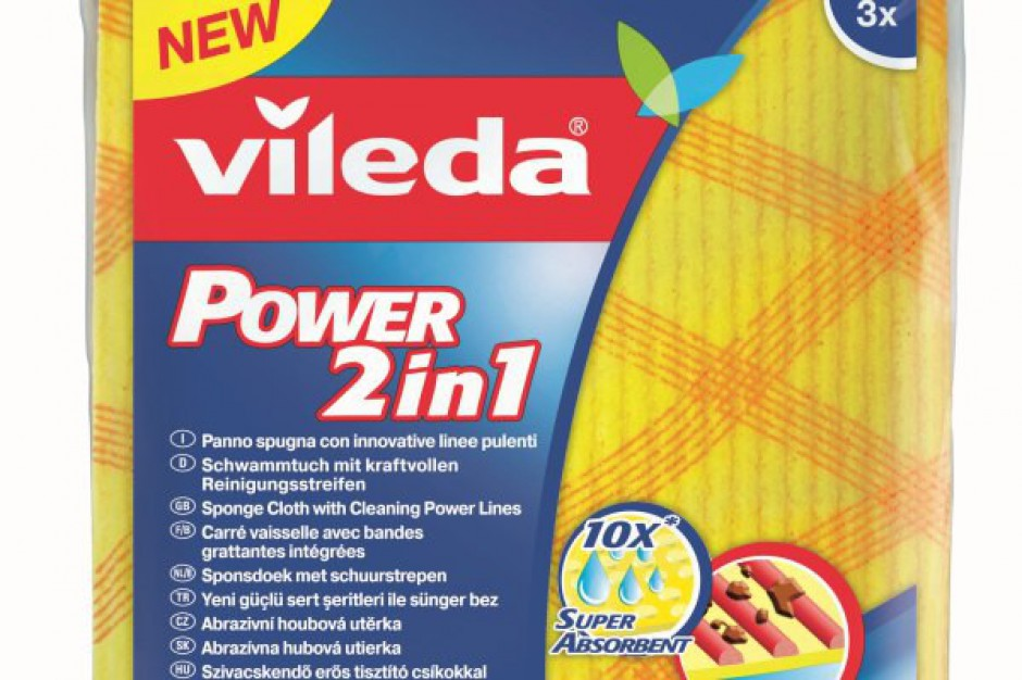 Nowość Viledy - Pucerka Gąbkowa Power 2w1