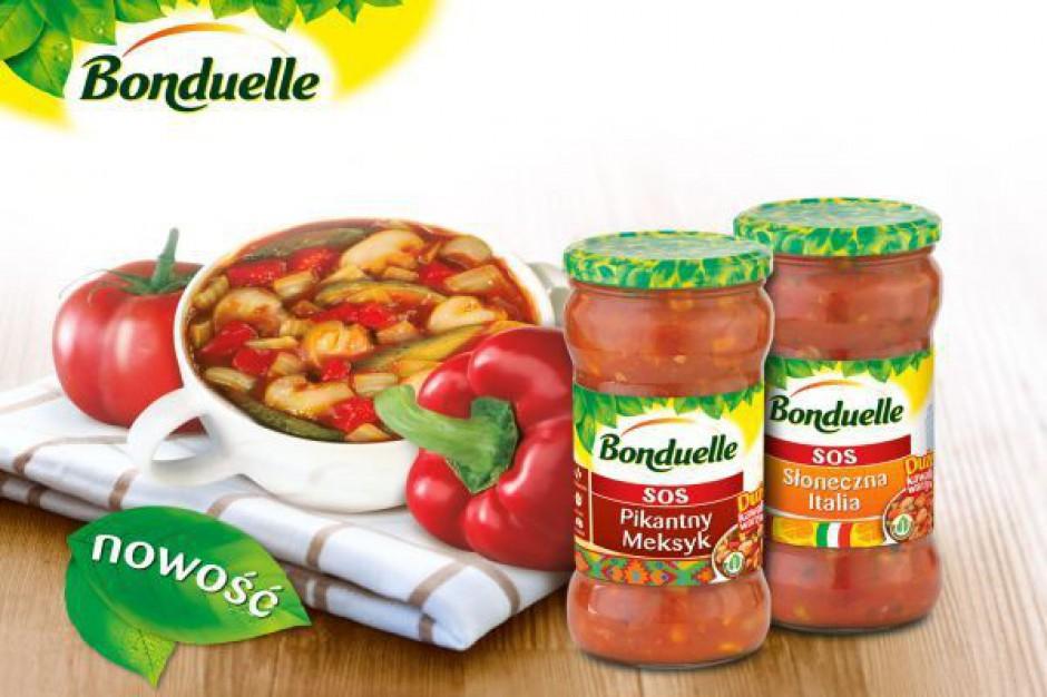 Sosy pełne warzyw Bonduelle