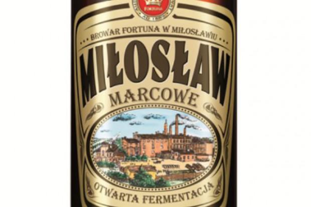 Miłosław Marcowe - nowa piwna specjalność z regionalnego Browaru Fortuna