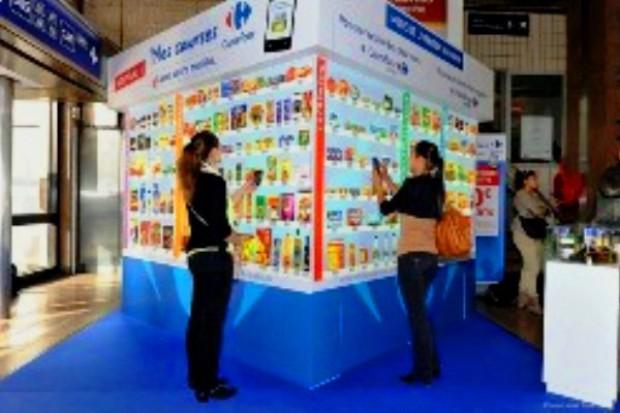 Carrefour idzie śladem Tesco i otwiera pierwszy wirtualny sklep