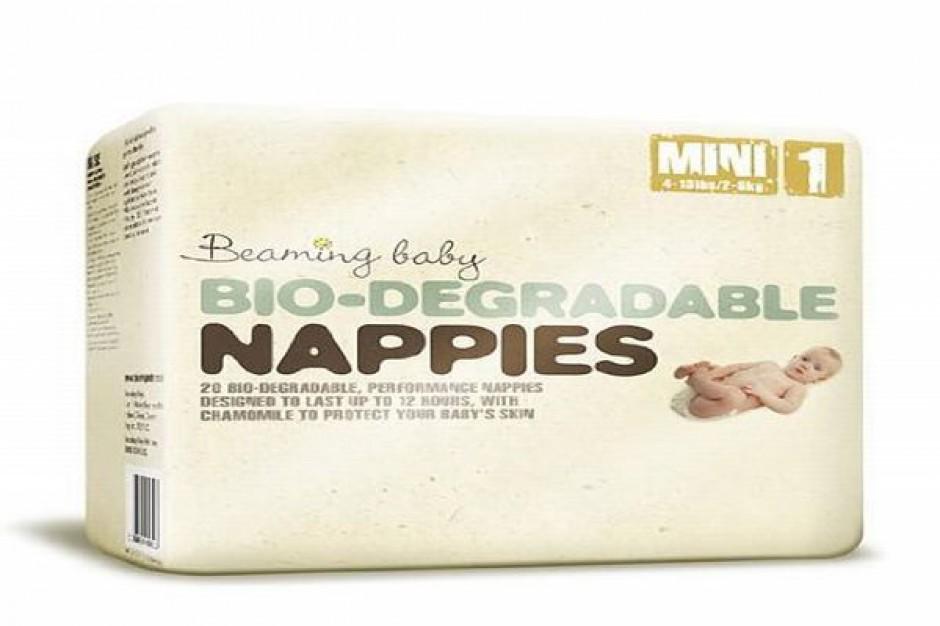 Ekologiczne pieluszki jednorazowe Beaming Baby