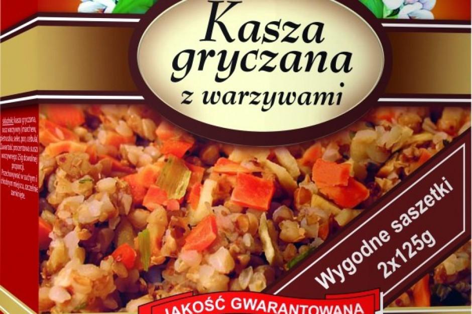 Kasza gryczana z warzywami od firmy Krawpak
