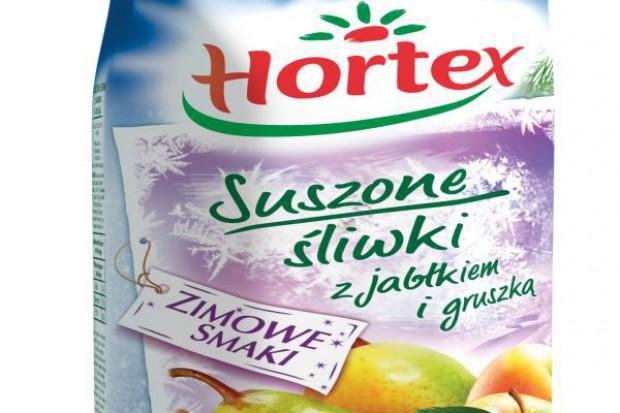 Suszone Śliwki i Grzaniec Owocowy - nowe smaki Hortex