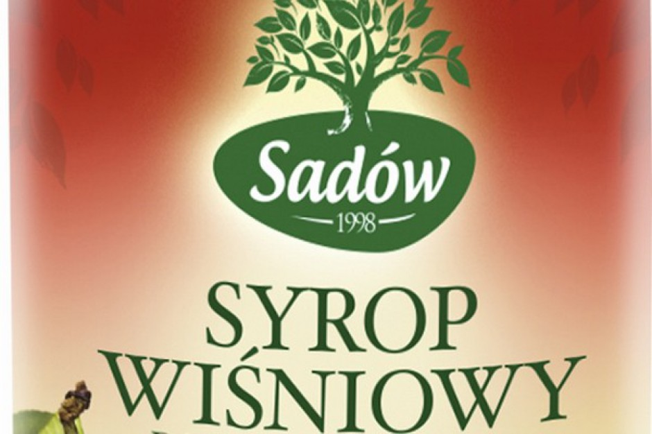 Syrop wiśniowy marki Sadów