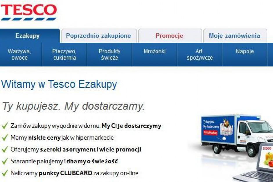 Tesco rezygnuje ze sprzedaży alkoholu w internecie. Branża apeluje o regulację prawną