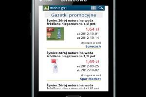 Gazetki promocyjne ABR SESTA na smartfonach MOBIT GS1