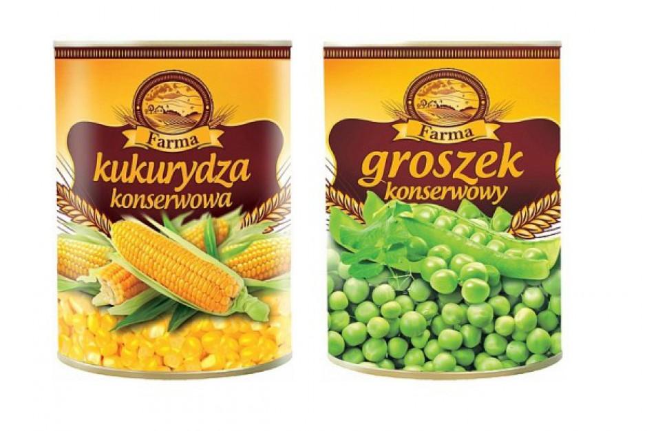 Kukurydza i groszek od Farmy