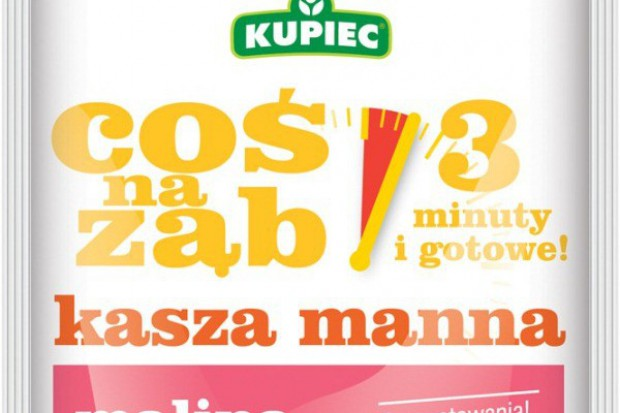 Kasza Manna Instant Waniliowa i Malinowa od Kupca