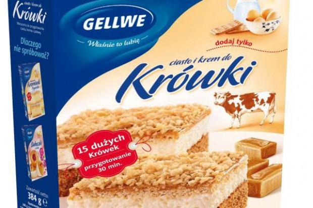 Ciasto i krem do Krówki od Gellwe