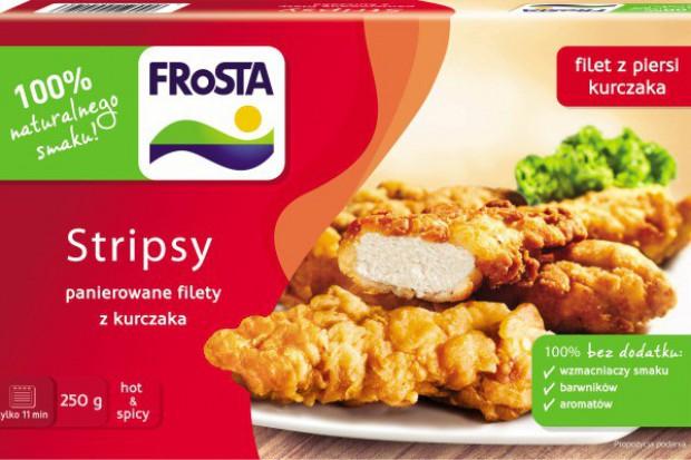Nowość marki FRoSTA - Stripsy - panierowane filety z kurczaka