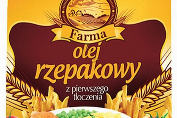 Olej rzepakowy marki Farma