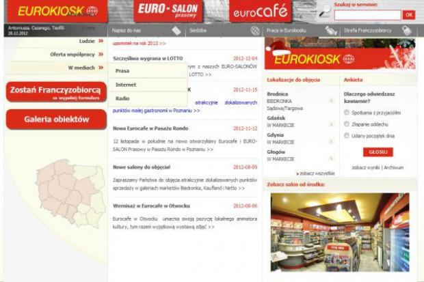 Eurokiosk rozwija koncepty Euro-Salon Prasowy, Euro-Cafe i Eurosnack