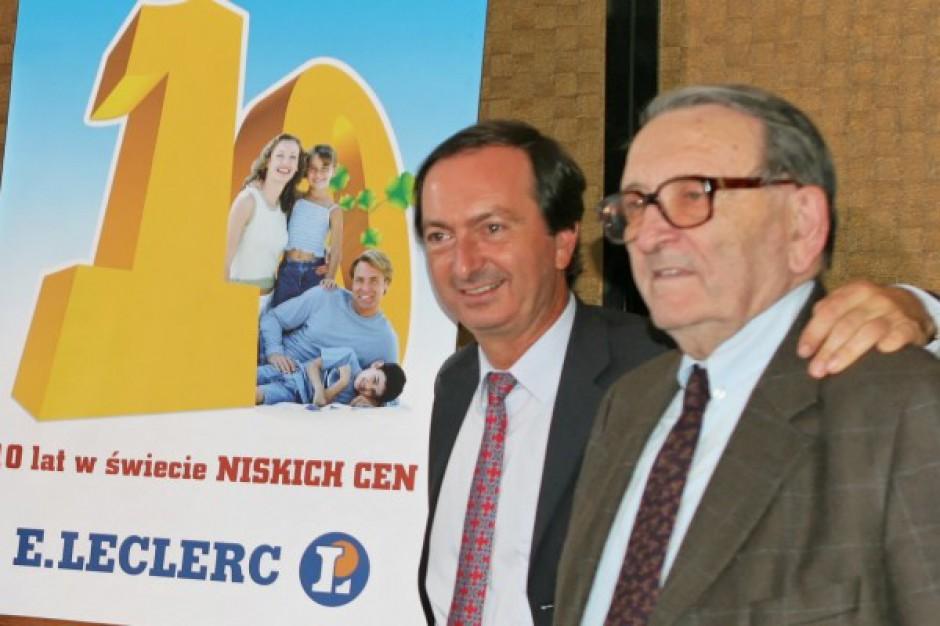 Całkowite obroty sieci E.Leclerc wzrosły w 2012 r. do ponad 2,771 mld zł