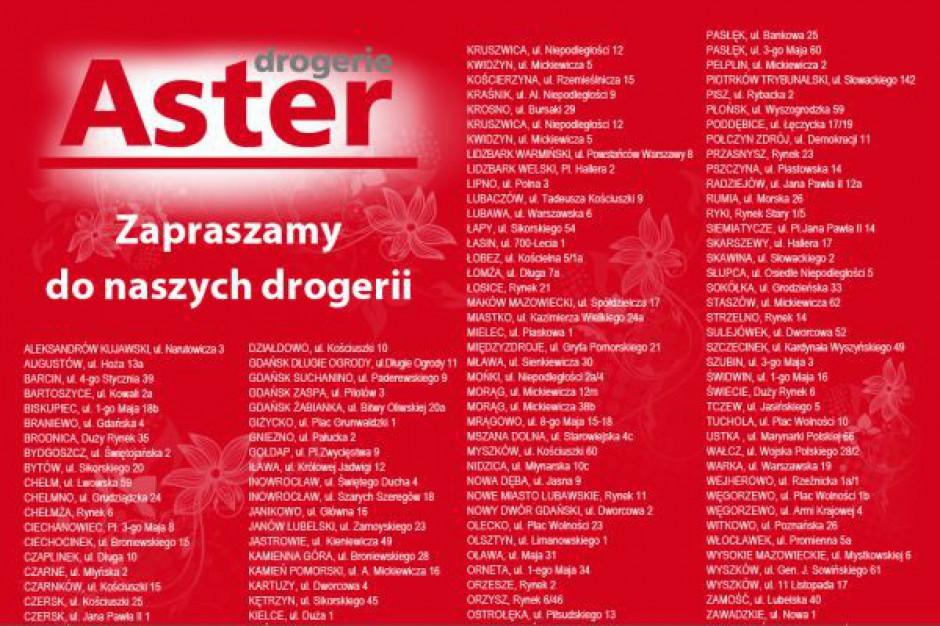 Zwolnienia grupowe w Drogeriach Aster