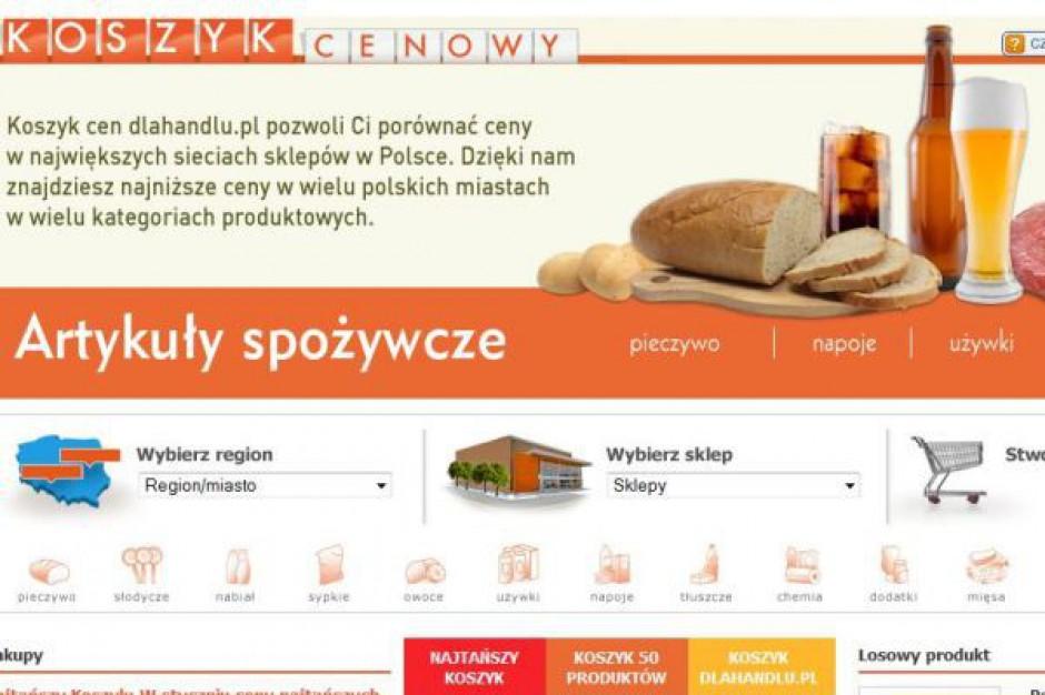 Koszyk cen: Różnica cen przy zakupie 50 produktów w różnych hipermarketach sięga 70 zł