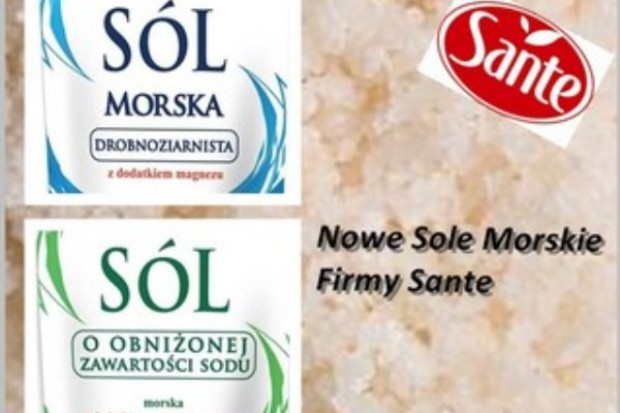 Sól Morska Sante w nowej odsłonie
