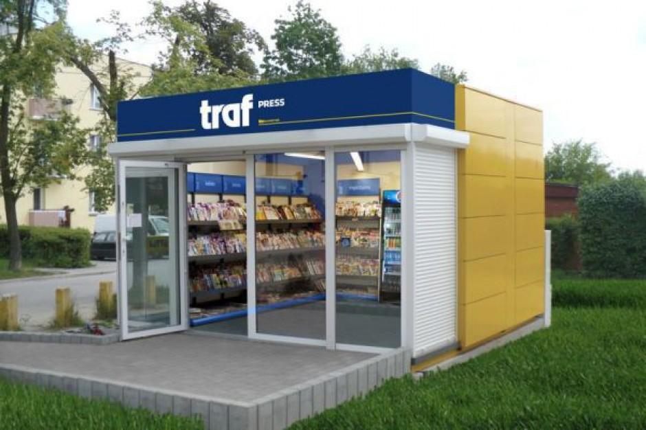 Sieć Traf Press w 2013 r. powiększy się o 200 punktów