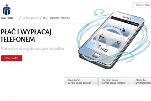 PKO BP wprowadzi system aplikacji mobilnych do płacenia w sklepach