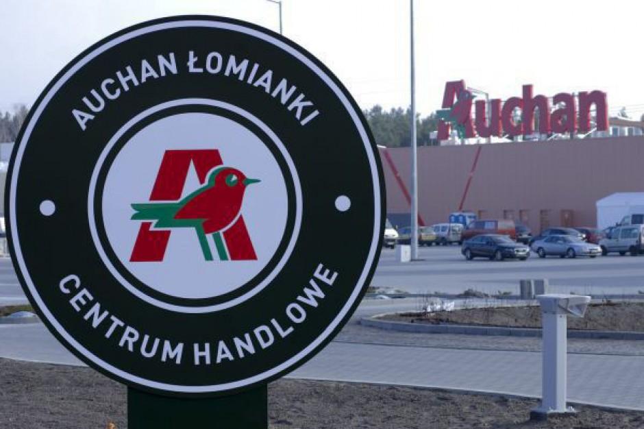 Auchan zwiększył przychody o 5,8 proc. Pomogła Europa Wschodnia, w tym Polska
