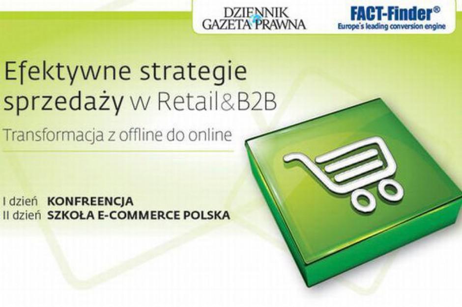 8-9 maja, Kraków, Konferencja Efekty strategie sprzedaży w Retail and B2B. Transformacja z offline do online