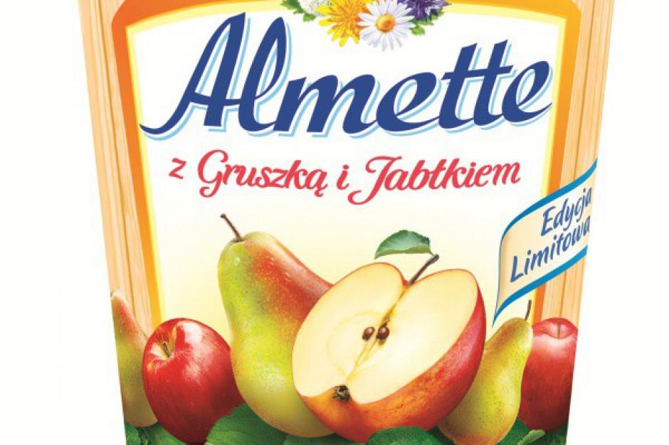 Nowy wariant smakowy serka Almette - z gruszką i jabłkiem