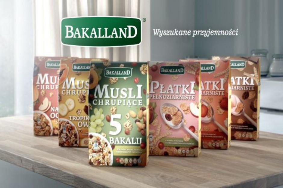 Bakalland wchodzi na rynek musli i płatków śniadaniowych