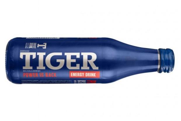 Napój Tiger w szklanej butelce