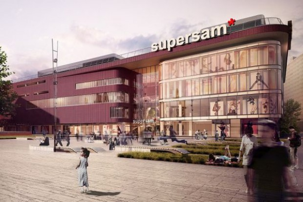 Griffin Group zbuduje nowy Supersam w Katowicach za 50 mln euro