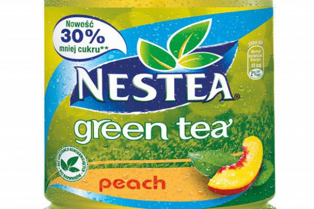 Nowy smak Green Tea Peach od Nestea