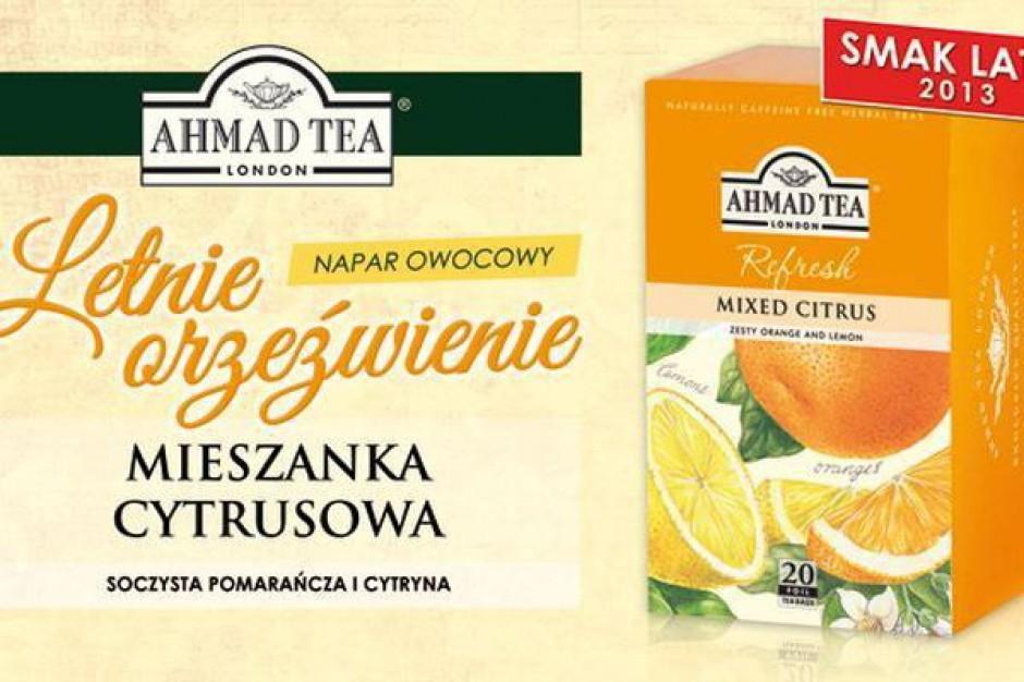 Cytrusowa herbata od Ahmad Tea