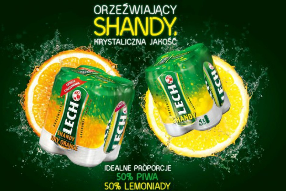 Nowy Lech Shandy Dry Orange