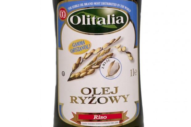 Olej ryżowy od marki Olitalia