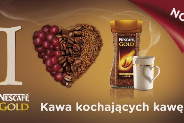 Nowa kampania Nescafe Gold