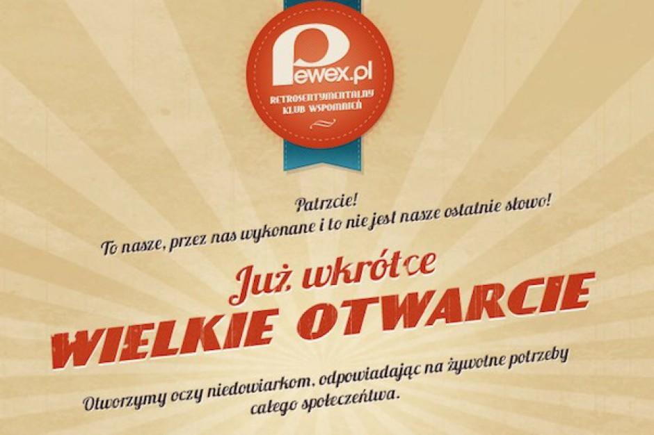 Marka Pewex powraca. Będzie sieć tradycyjna i internetowa