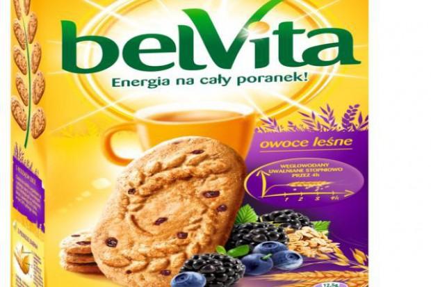 belVita wprowadza nowy smak ciastek - owoce leśne