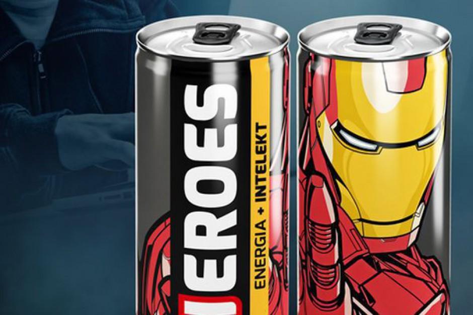 Nowe napoje energetyzujące od firmy Heroes