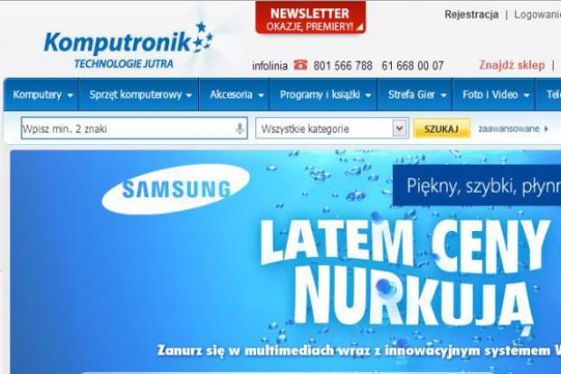 Komputronik optymalizuje sieć sprzedaży. Planuje otwarcie formatu Megastrore w Poznaniu