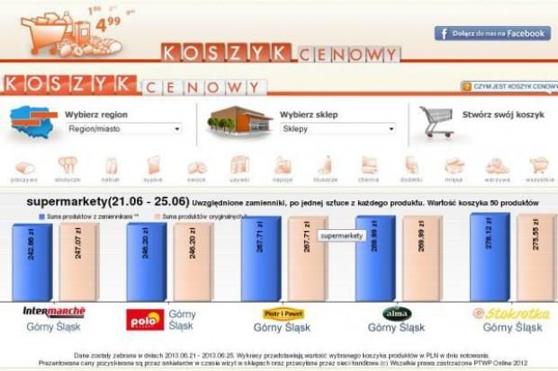 Koszyk cen: Tańsze warzywa sezonowe pomogły wszystkim supermarketom zejść w czerwcu z cenami